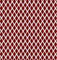 Red curve seamless pattern background vector image vector image