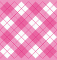 seamless sweet pink and white background vector image vector image