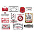 vintage banners vector image