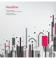 Business background Pink and grey vector image vector image