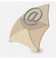 Email cartoon symbol vector image vector image
