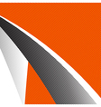 Orange and grey abstract background 001 vector image vector image