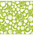 seamless pattern with fruit vector image vector image