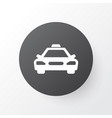 taxi icon symbol premium quality isolated car vector image vector image