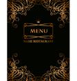 royal menu vector image