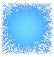 Abstract Christmas frame vector image vector image