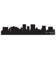 El paso texas skyline detailed silhouette vector | Price: 1 Credit (USD $1)