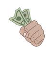 got money vector image vector image