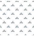 industry 3d printing pattern seamless vector image vector image