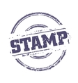 Rubber stamp template vector image vector image