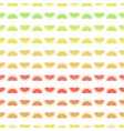 seamless pattern grapefruit lemon lime orange vector image