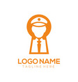 security logo design and icon vector image