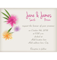 wedding abstract background vector image vector image