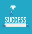 word of success vector image