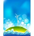 windmills energy vector image