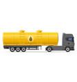 truck semi trailer 08 vector image