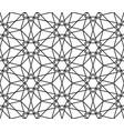 abstract hexagonal geometry ornament vector image