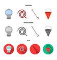 gas mask hose bucket bagore fire department vector image vector image
