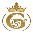 letter g logotype vector image