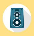 Music Speaker Icon vector image vector image