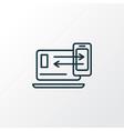 responsive design icon line symbol premium vector image