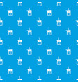 science flask pattern seamless blue vector image vector image
