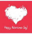 Valentines day postcard vector image