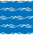 Waves seamless vector image vector image