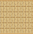 bamboo stems design vector image