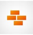 Brickwork Icon vector image