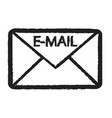 email symbol icon vector image