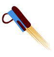 isolated jetpack icon vector image vector image