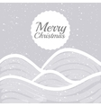 Merry christmas icons and elements vector image vector image