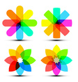 Abstract Colorful Shapes - Colorful Transparent vector image