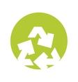 arrows recycle ecology symbol vector image vector image