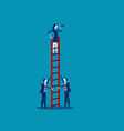 business team working concept business vector image vector image