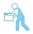 carton box design vector image vector image