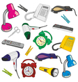 everyday items vector image vector image