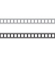 film strip icon template vector image vector image