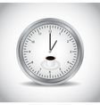Icon of clock vector image vector image