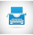 Retro Vintage Creativity Symbol Typewriter Icon vector image vector image