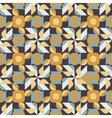 Seamless Geometric Square Triangle Circle vector image