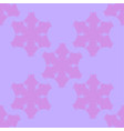 simple snowflake seamless vector image vector image