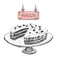 Sweets Dessert vector image vector image