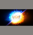 abstract background with colorful light effect vector image