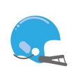 american football helmet sport vector image