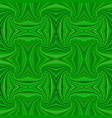 green seamless abstract psychedelic spiral ray vector image vector image