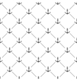 White seamless pattern with anchors vector image vector image