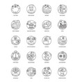 100 finance and banking icons vector image