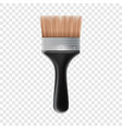 big brush icon realistic style vector image vector image